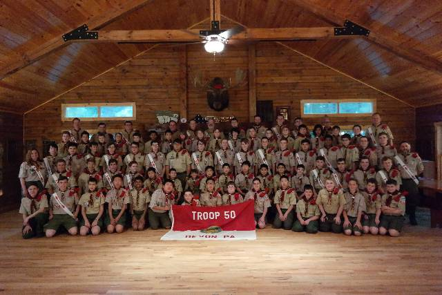 2018 Troop Photo