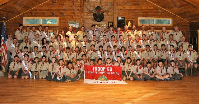 Troop 50 Photo June 8 2016