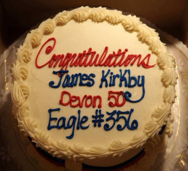 James Kirkby Eagle Cake